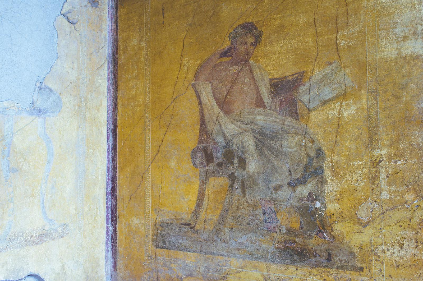 Mural in Casa del Menandro