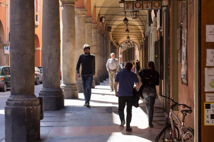Via San Vitale, Bologna - Italy