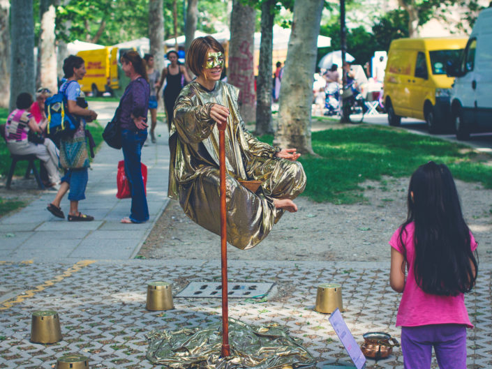 """Street Magician"" Bologna - Italy"