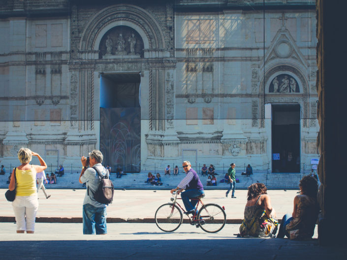 Piazza Maggiore (passing by)