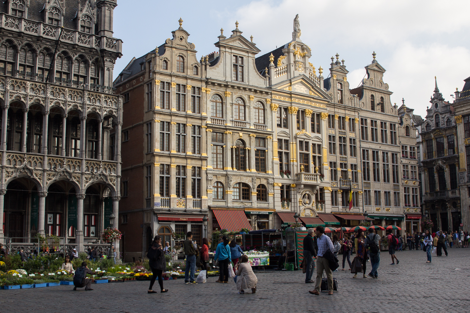 Guild houses on Grand-Place, Brussels