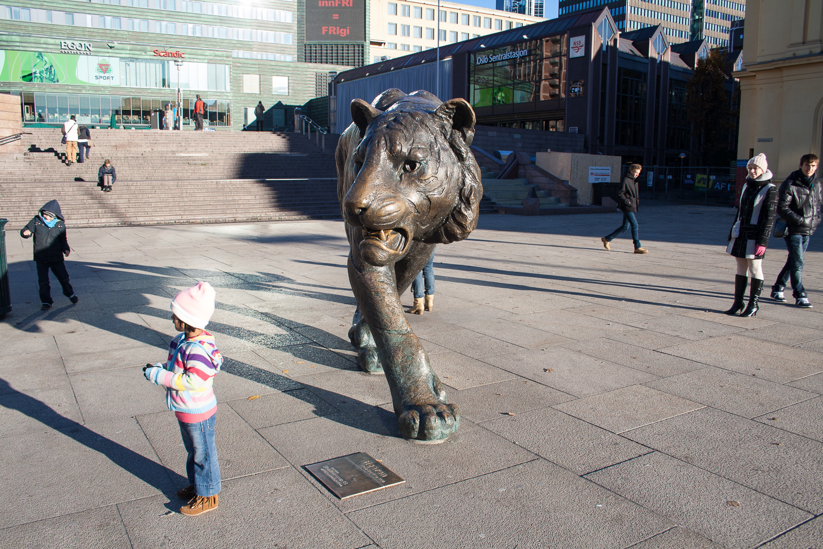 The Oslo Tiger - Central Station, Oslo Norway