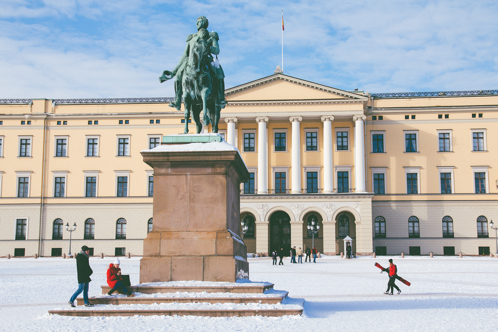 The Royal Palace, Oslo (Feb. 19, 2011)