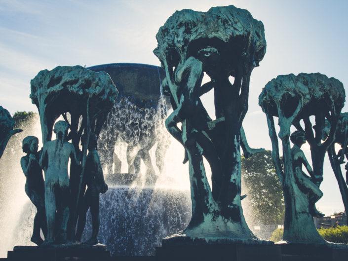 Vigeland Sculpture Park, Oslo