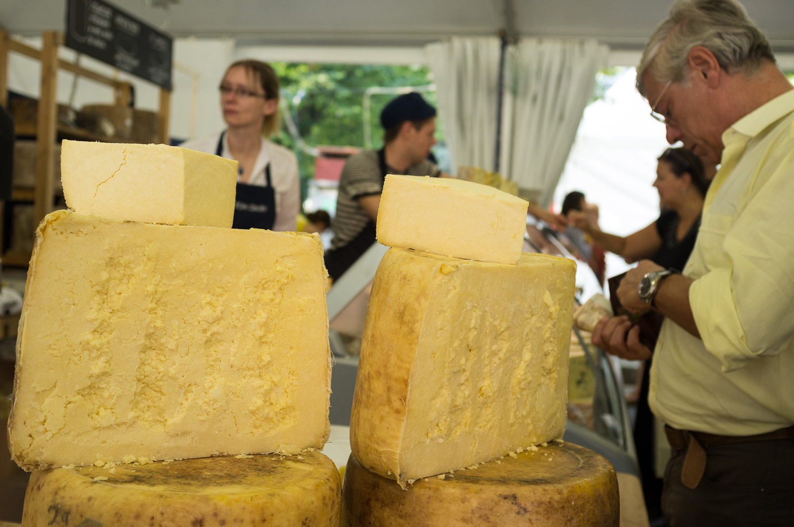 Cheese festival (2011) in Bra (Piedmont)