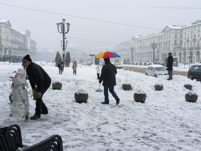 Snow in Turin (2012)