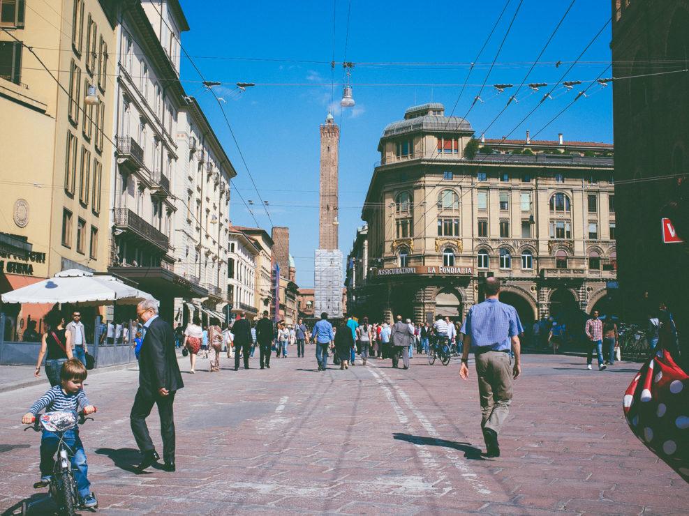 Via Rizzoli, Bologna