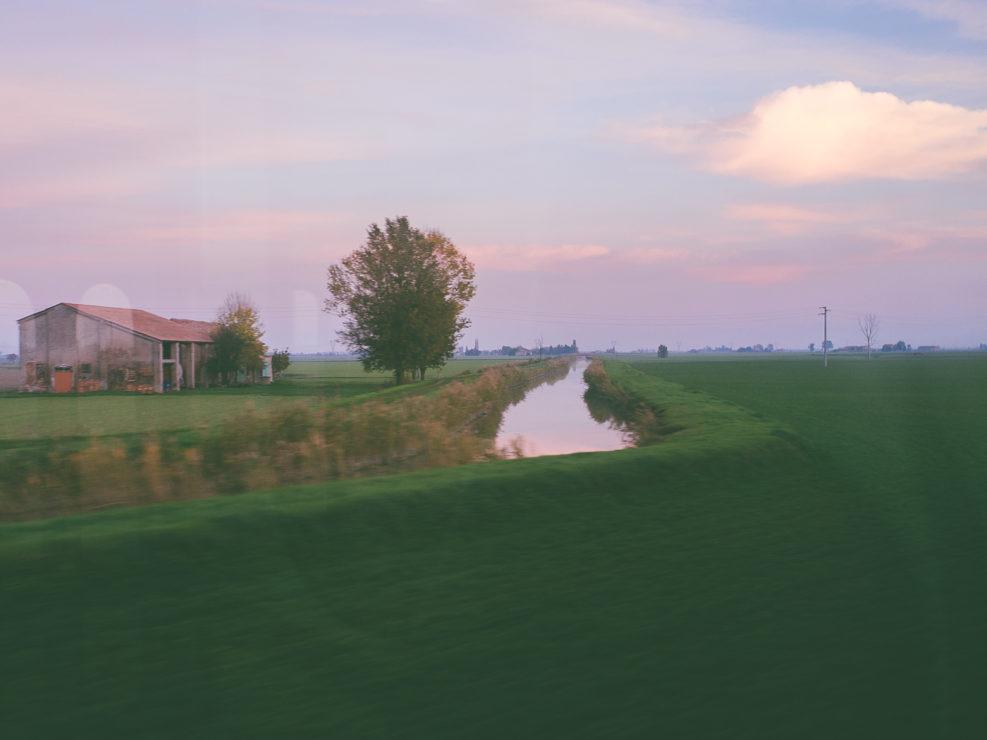 Emilia-Romagna landscape (passing by)
