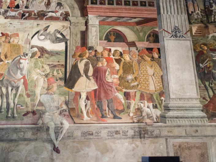 Palazzo Schifanoia mural detail