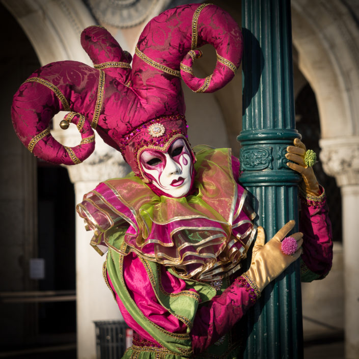 The Joker at Carnival of Venice