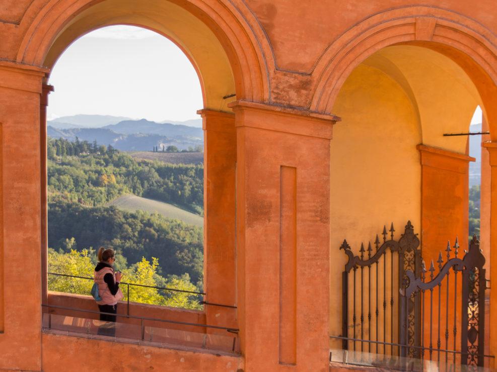 A San Luca view