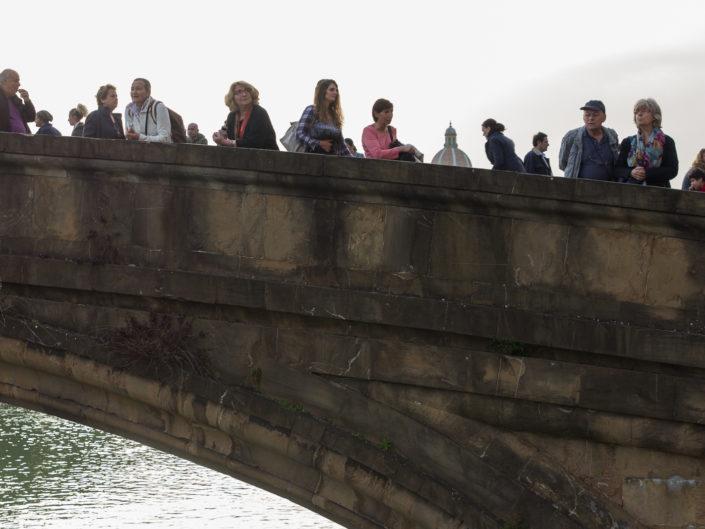 One bridge from Ponte Vecchiio