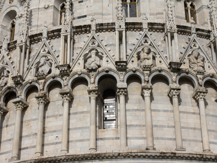 The Baptistry facade (detail)