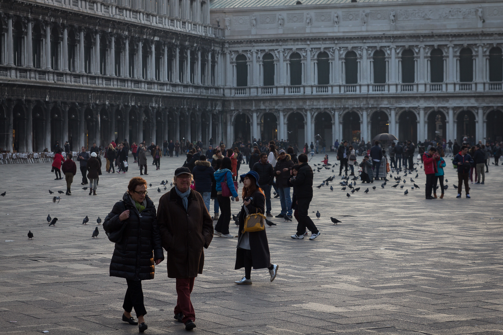 Afternoon on Piazza San Marco
