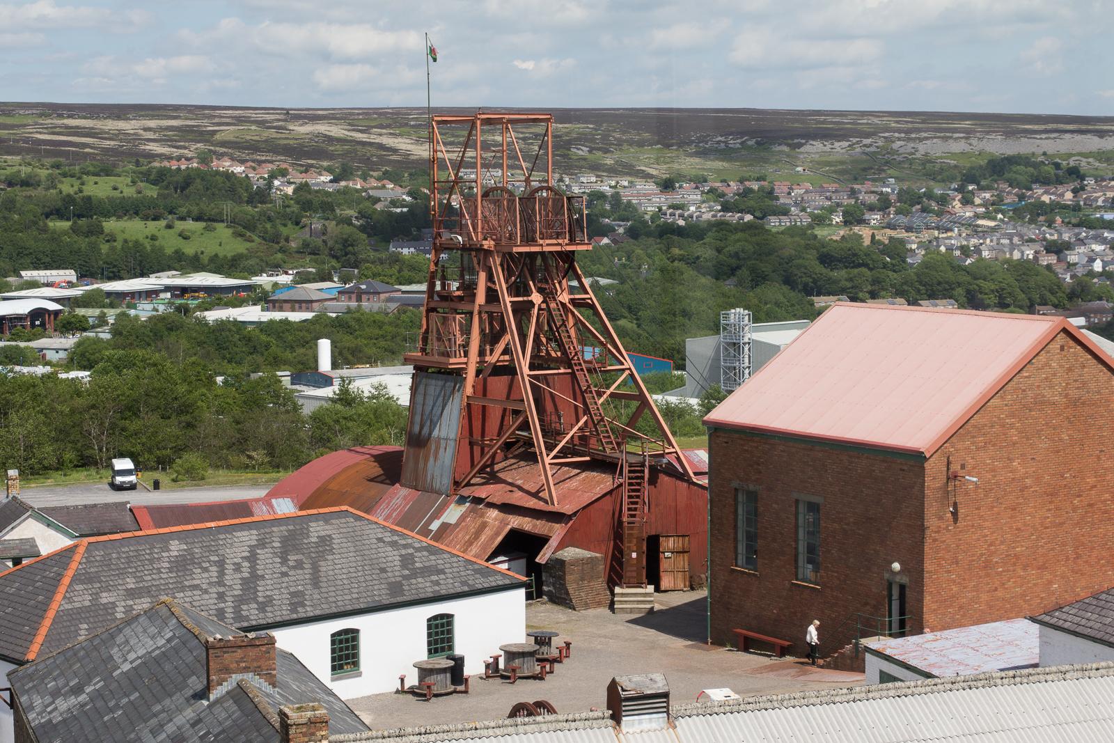 The Big Pit Mine and Blaenavon, Blaenavon - Wales
