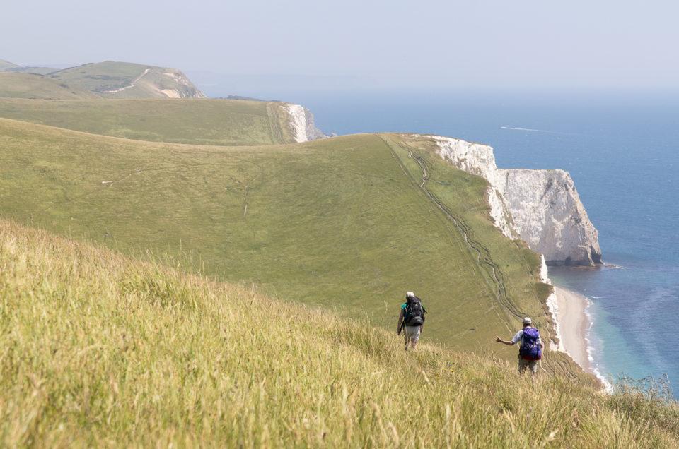 Dorset, on the coast path