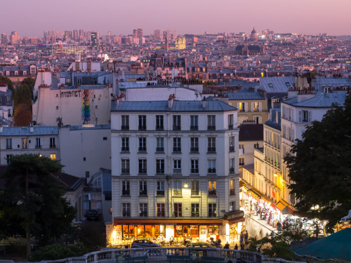 Paris at Montmartre