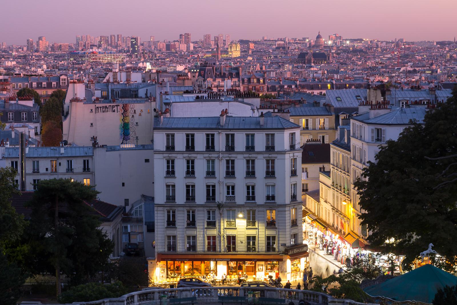 Paris at Montmartre