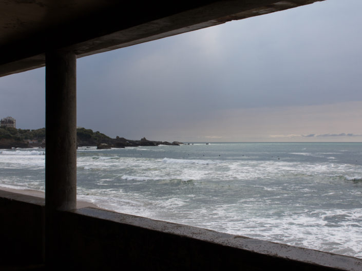 A view of Biarritz