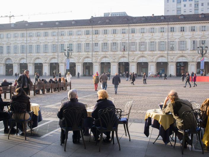 Piazza San Carlo (November)