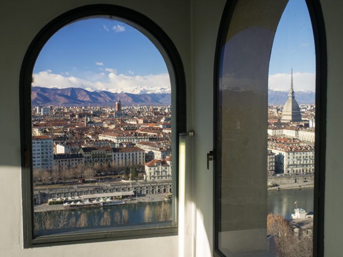 Two views of Turin