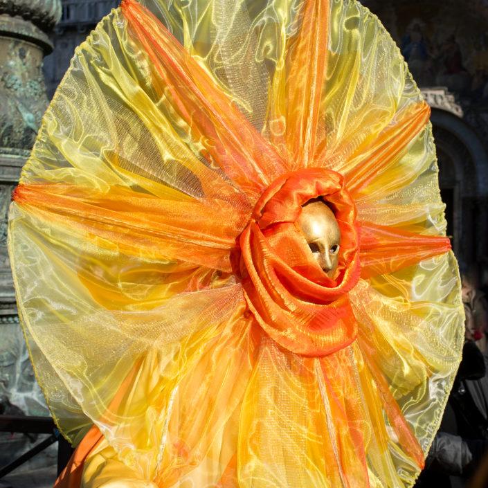 Sun Mask - Carnival of Venice