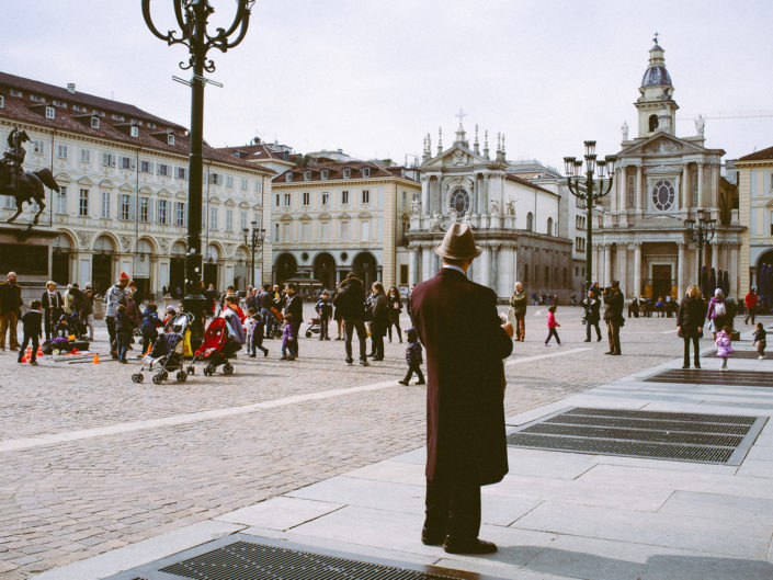 Sunday on Piazza San Carlo