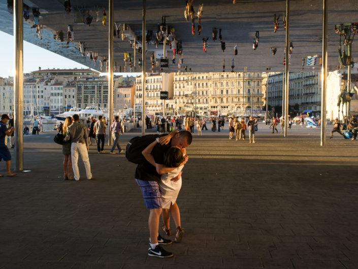 "*Mirror Kiss"" - Vieux Port"