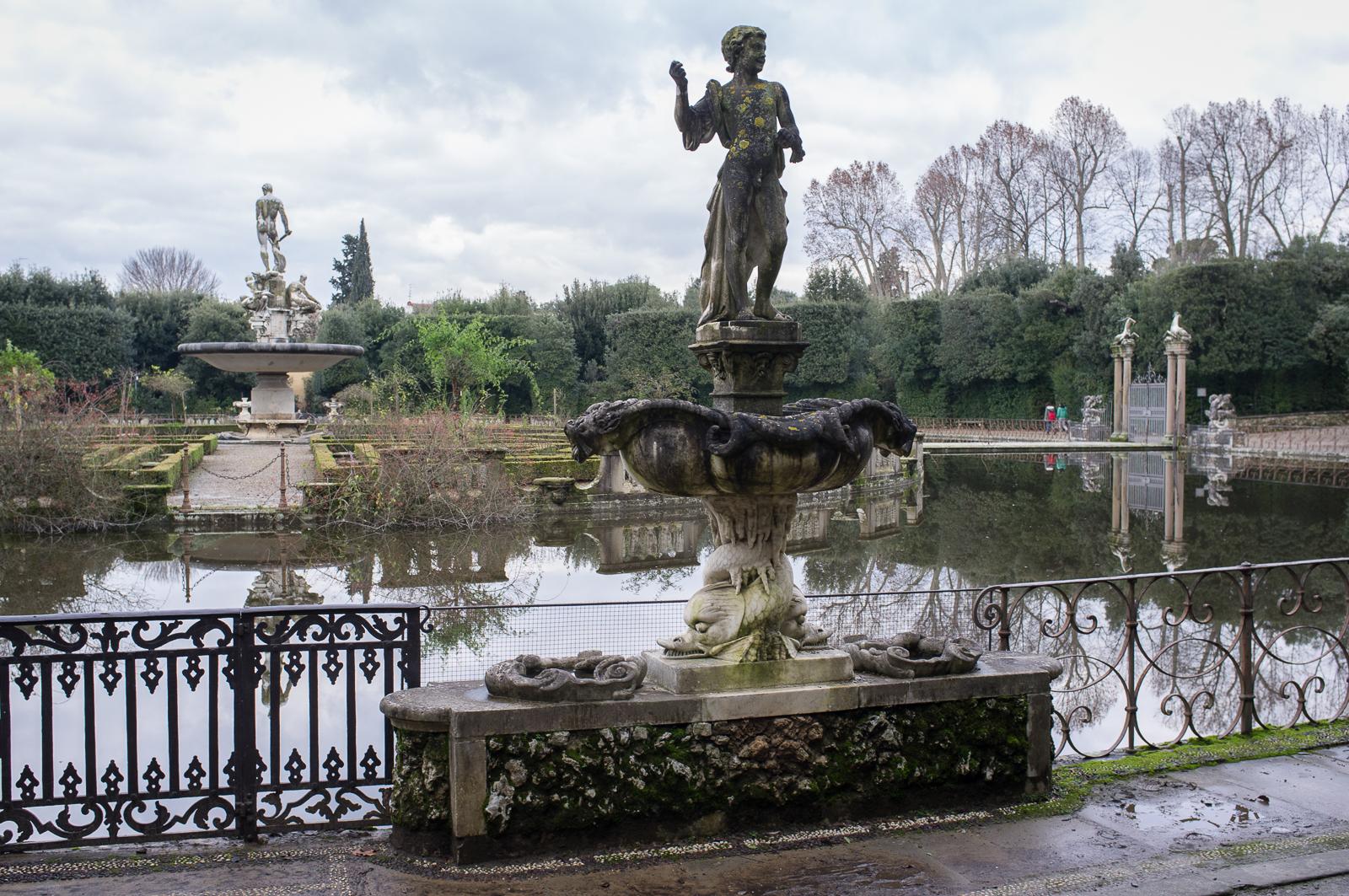 Boboli Gardens, fountain