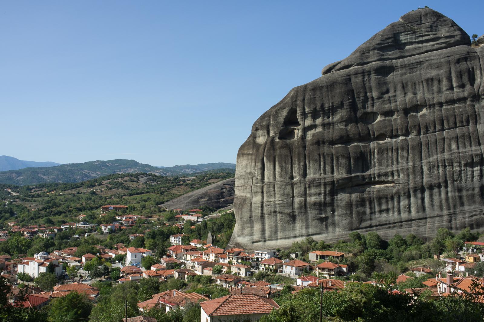 The village of Kastraki