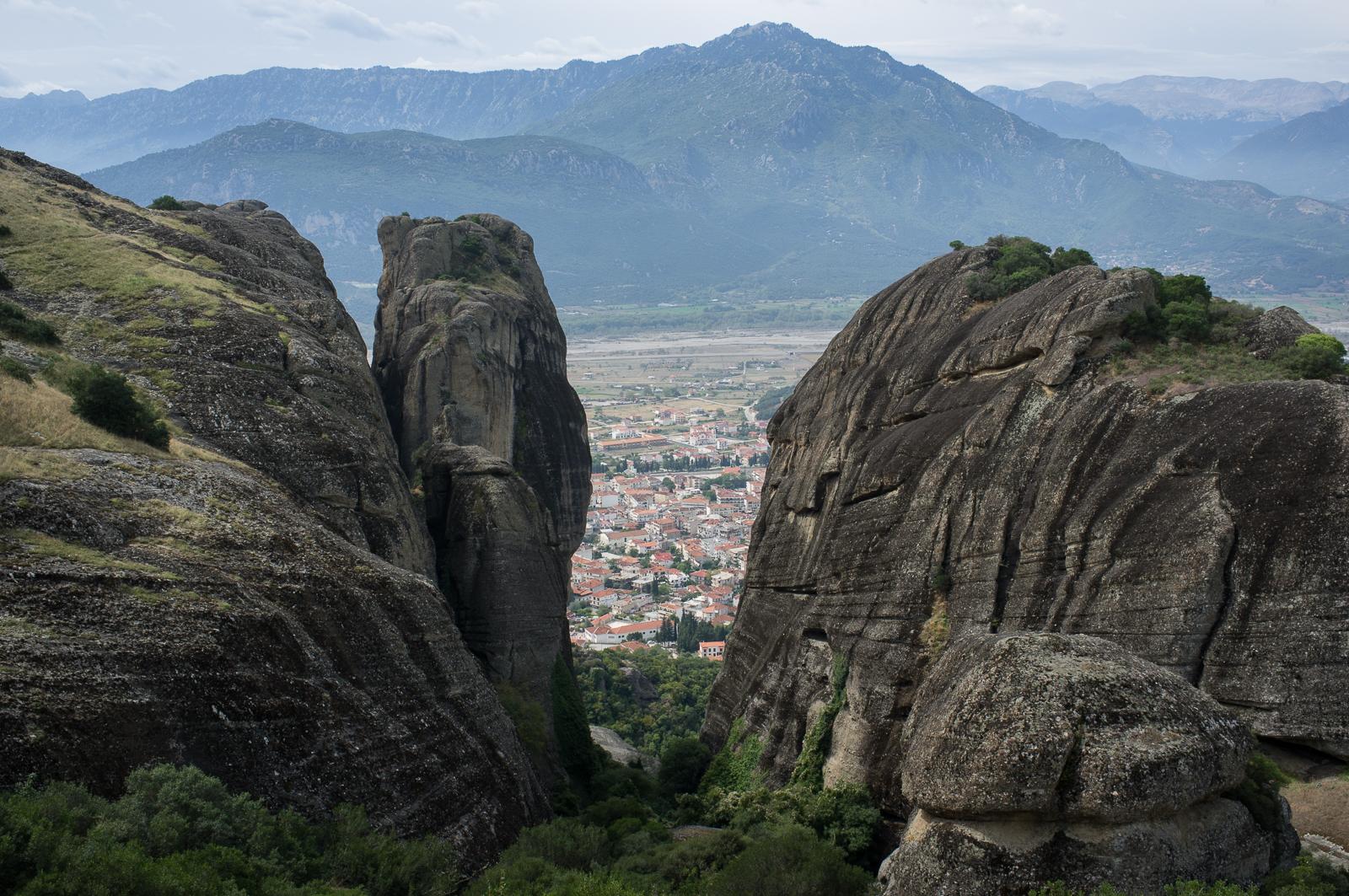 A view of Kalambaka
