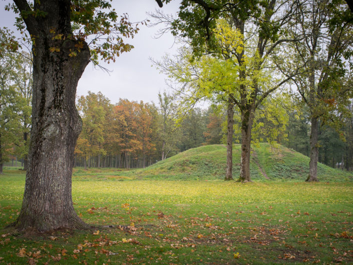 Viking Buriel Mounds at Borre