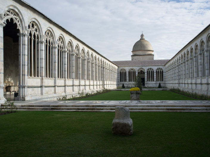 Camposanto courtyard