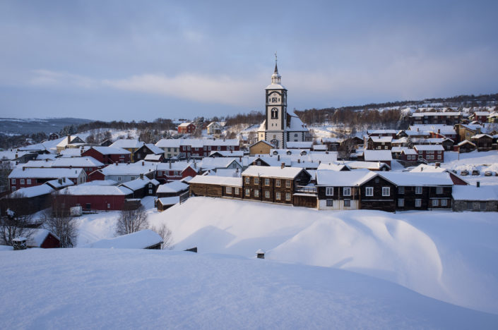 The former mining town of Røros