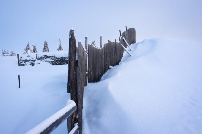 Røros in winter (fences)