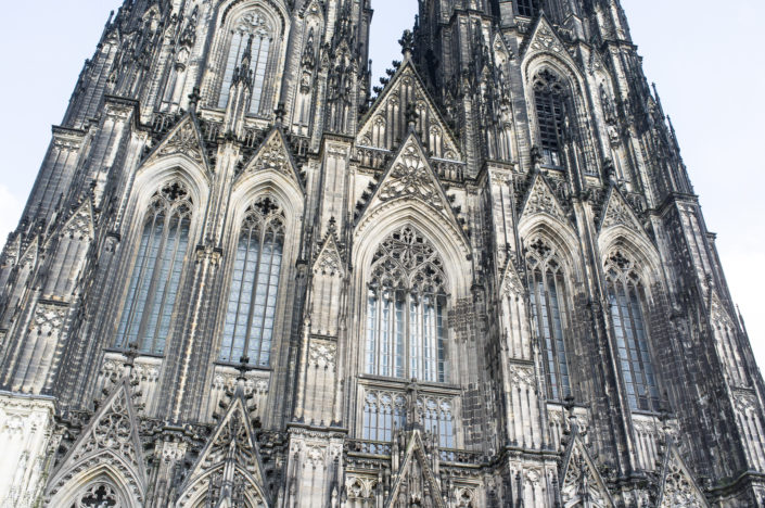 Cologne Cathedral is a masterpiece of Gothic architecture