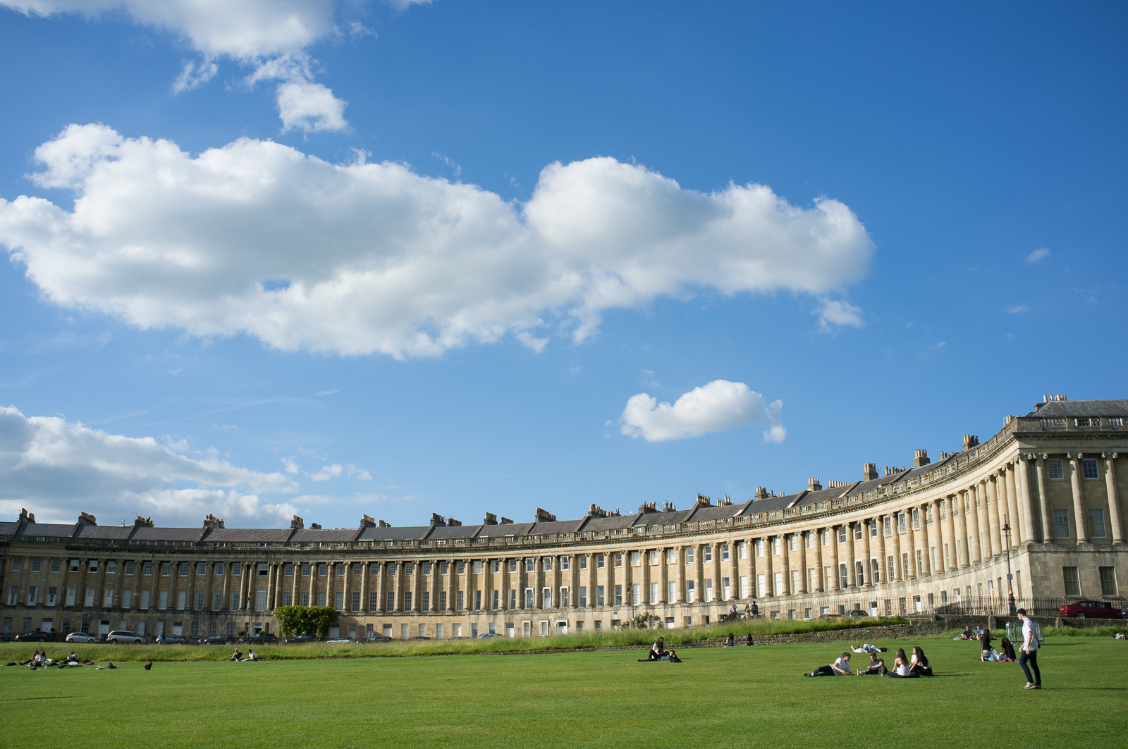 The Royal Crescent, Bath - England