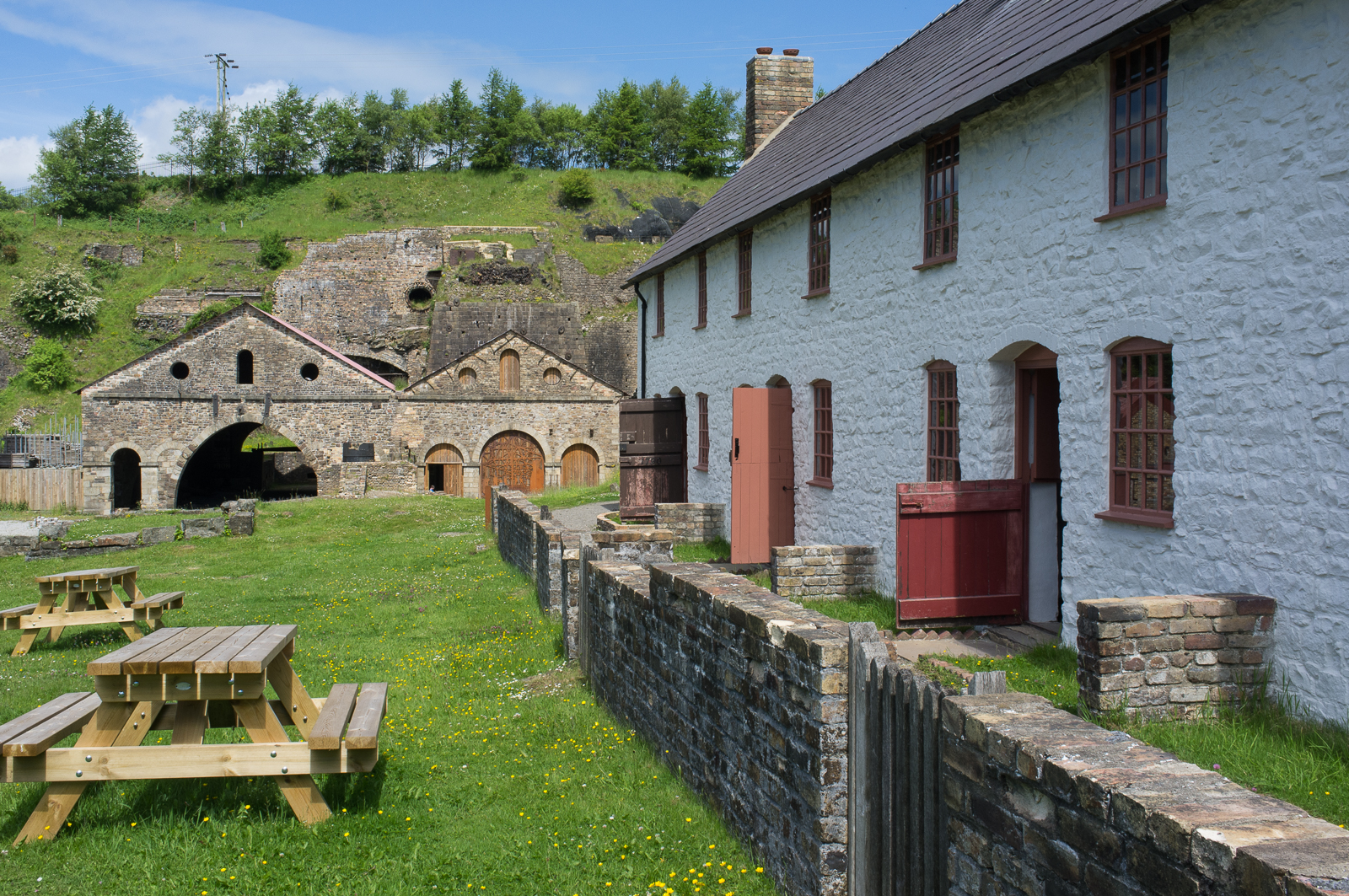 Company housing (Engine Row), Blaenavon - Wales