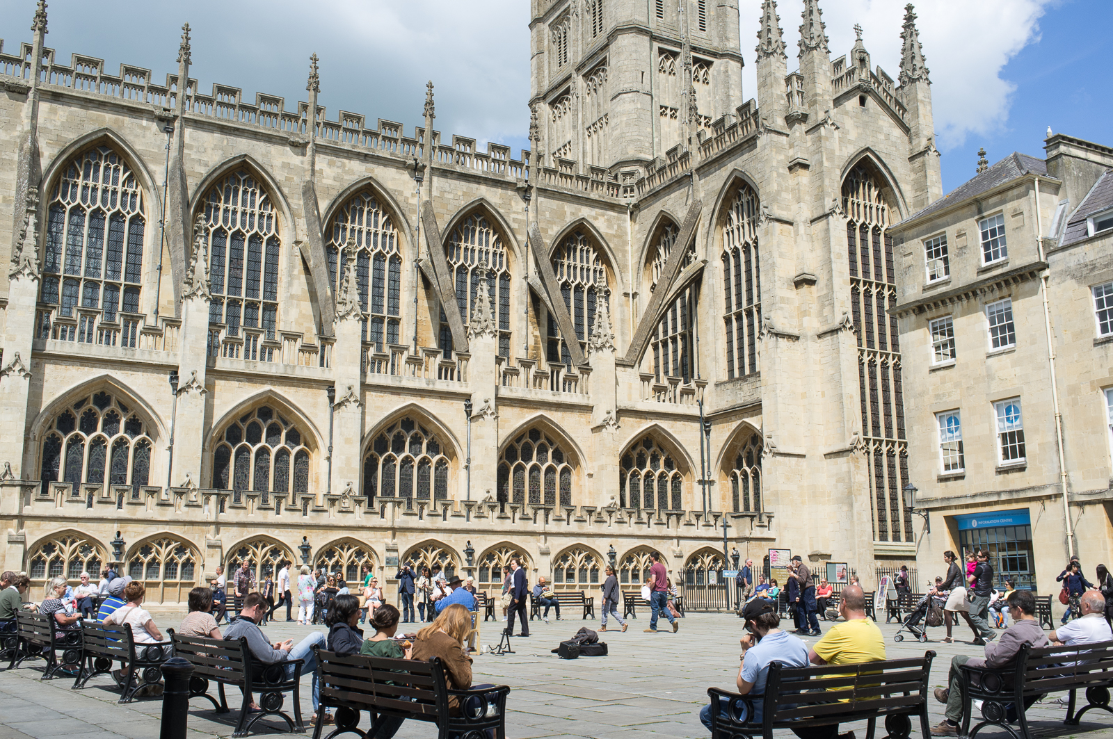 Bath Abbey - South-west side