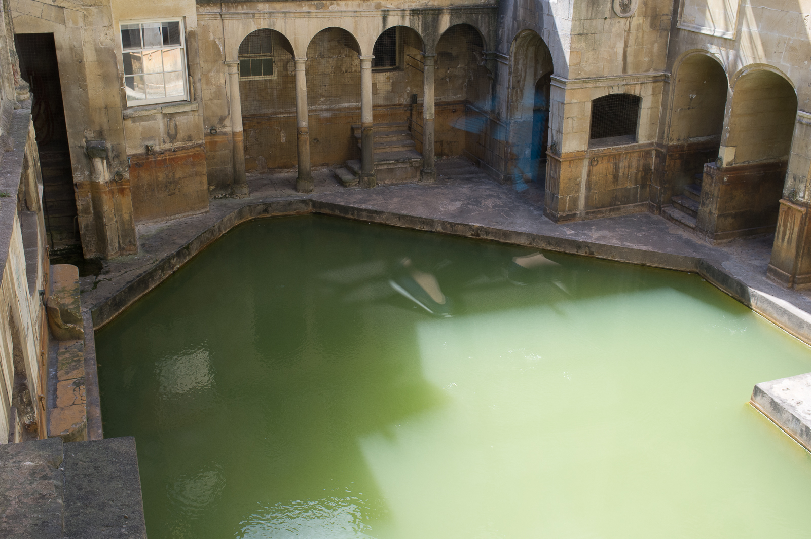 Hot spring, the Roman Bath