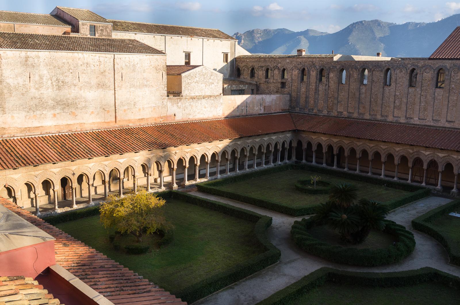 Monreale courtyard