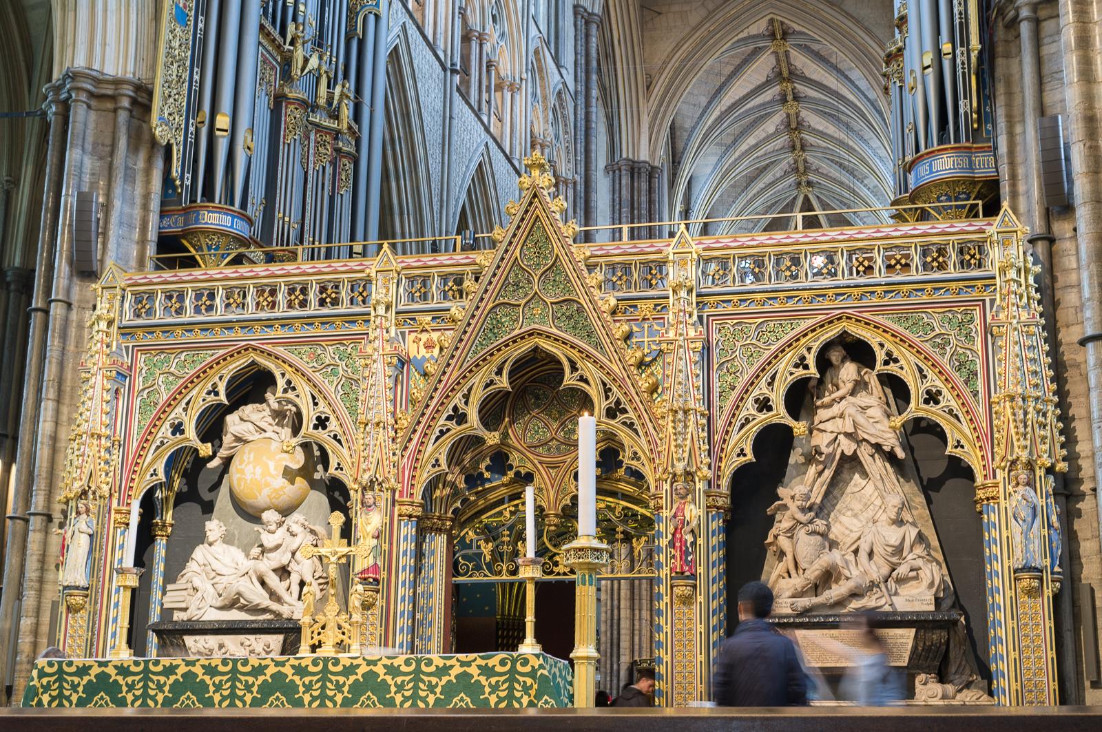 Westminster Abbey rood scrren