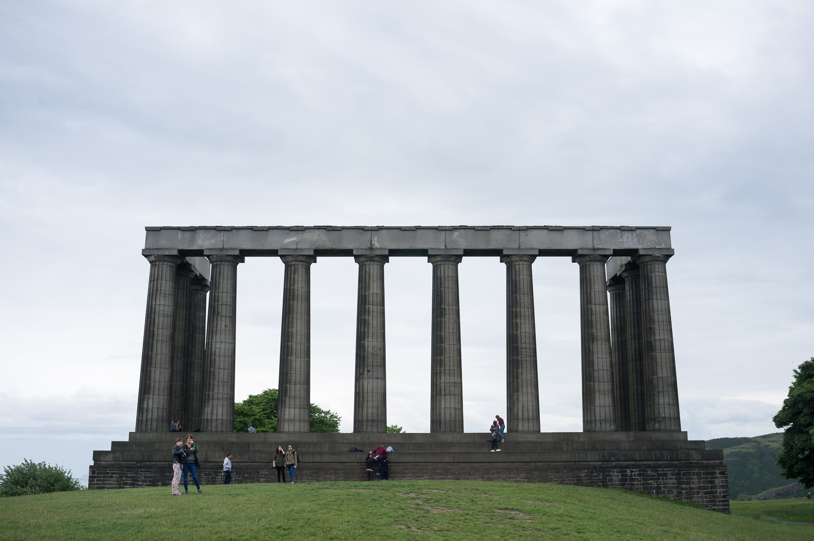 """Edinburgh's """"Parthenon"""" on Calton Hill"""