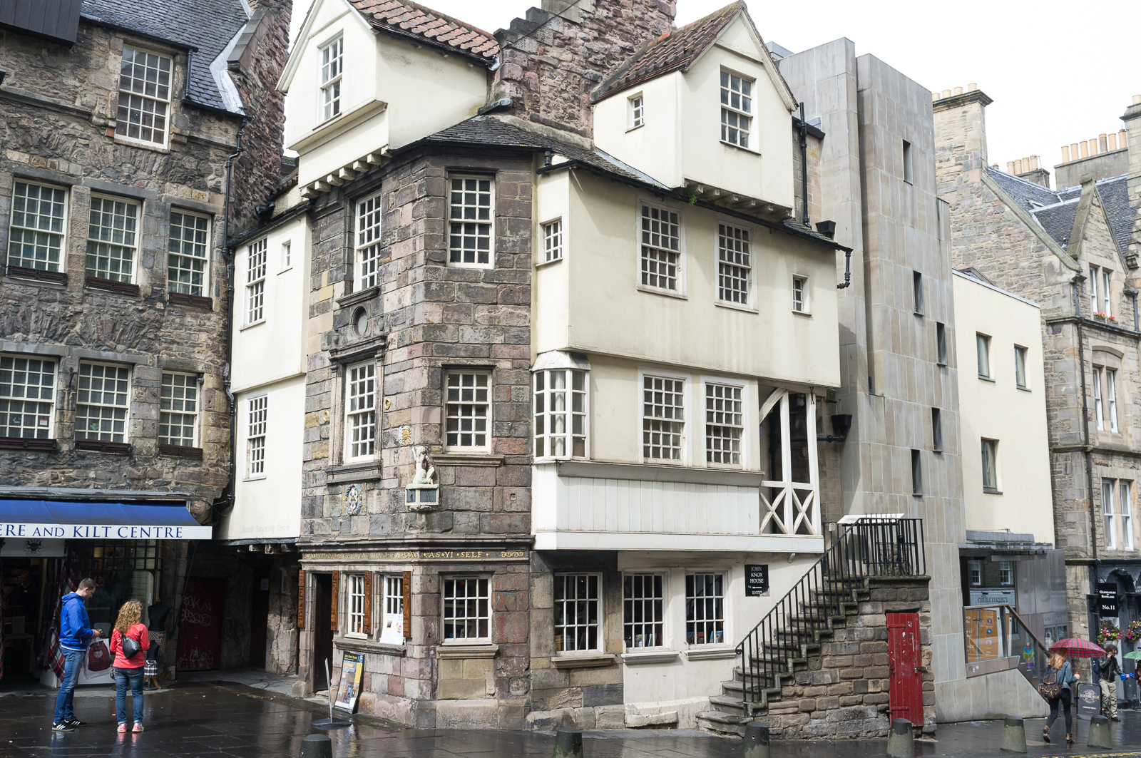 John Knox House on the Royal Mile, Edinburgh