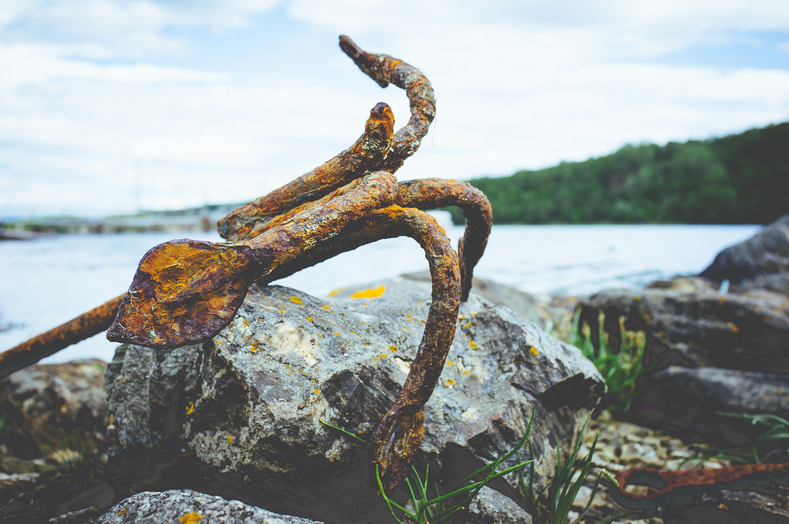 The rusty old anchor
