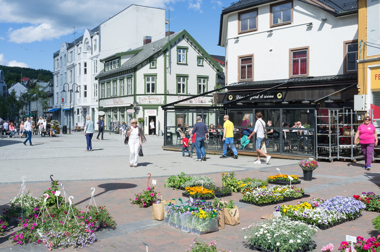 Harstad, town centre