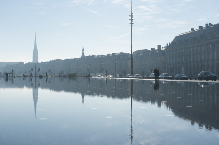 The Water Mirror in Bordeaux