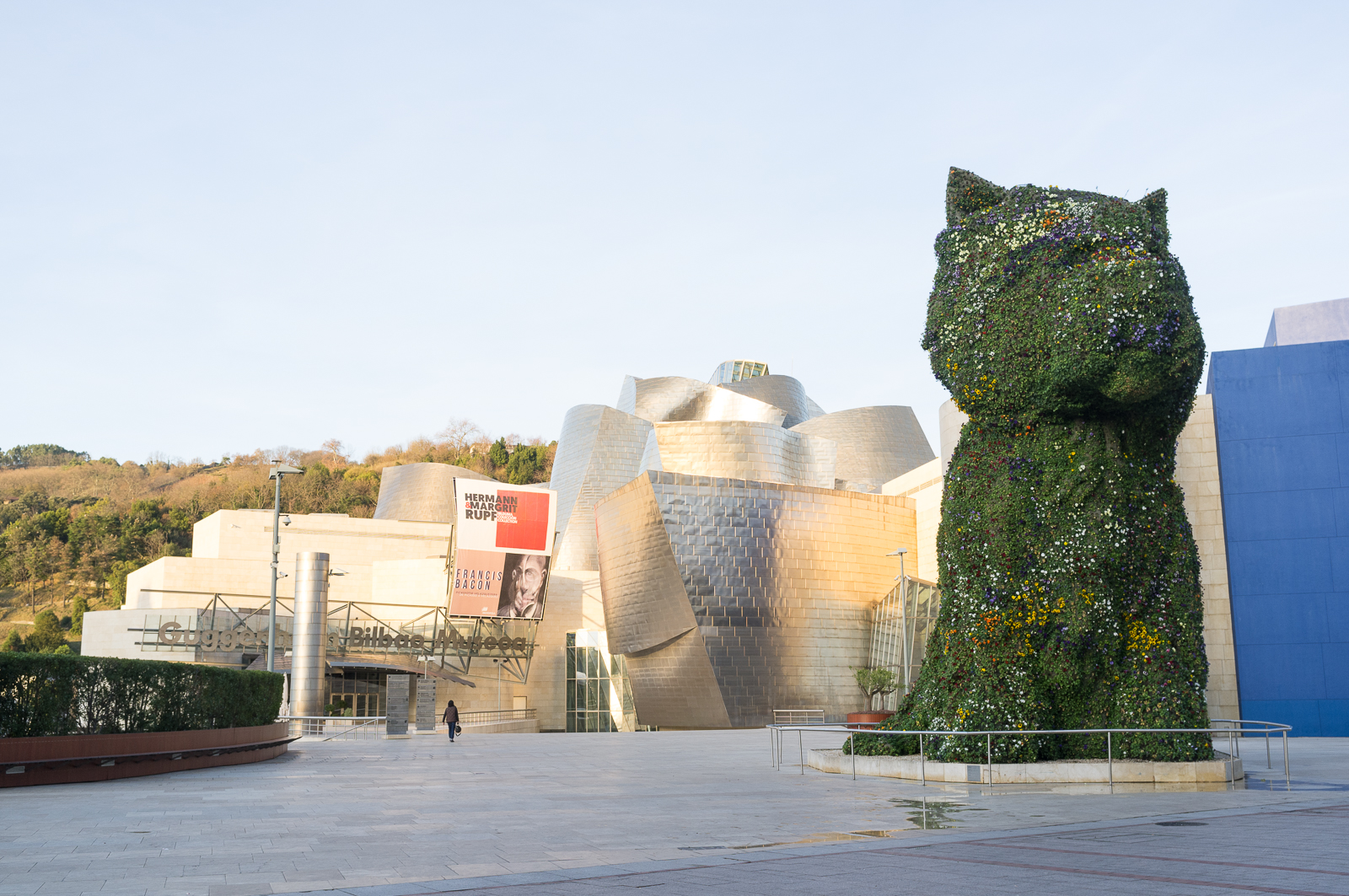 Jeff Koons' famous puppy, Bilbao - Spain