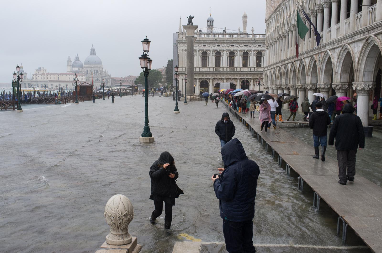 Aqua Alta, Piazza San Marco