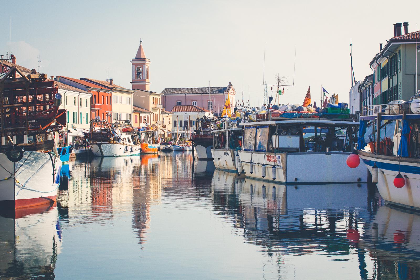 The fishing fleet on Porto Canale Leonardesco